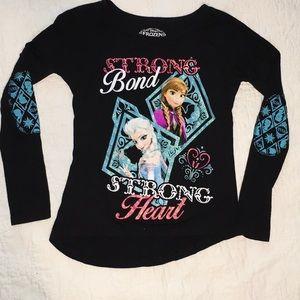 Little girls sz 4/5 frozen shirt NWOT